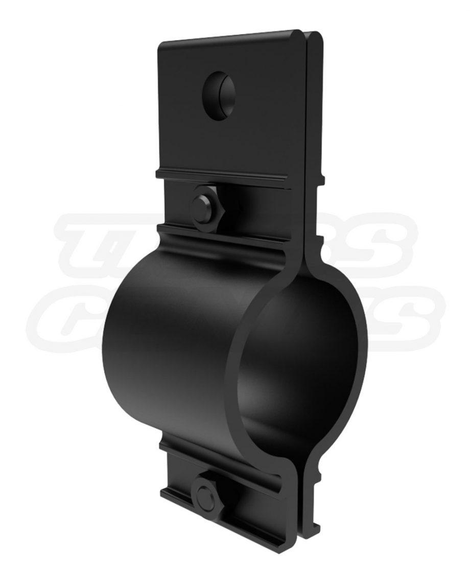 Black Mega-Batten Clamp MBAT The Light Source Track & Grid Clamp