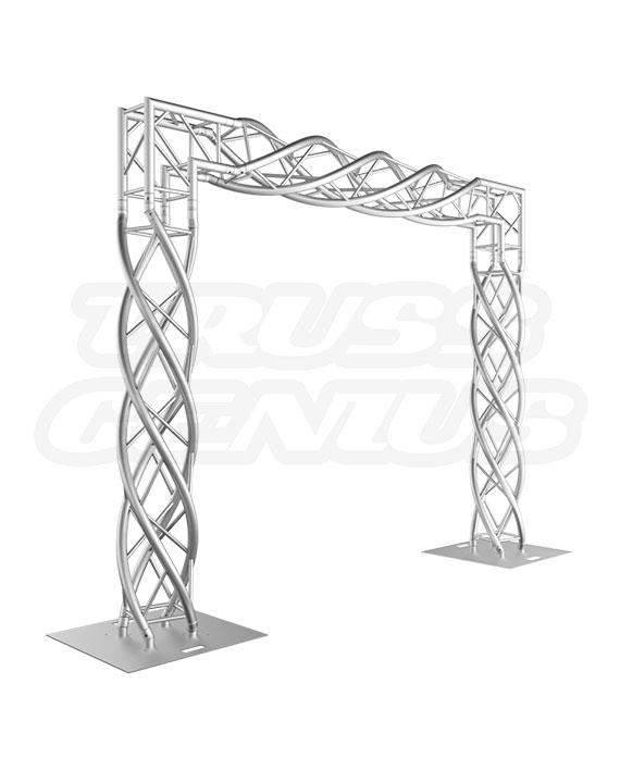 Goal Post F34 Strand Truss System 8x8