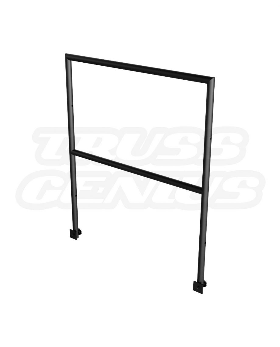 Portable Stage Guard Rail