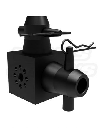 Multi Cube M12 Die Connector Black Global Truss Connector for F31, F32, F33, F34, and F44P